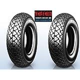 1 Paar Reifen Michelin S83 3 50 8 46j Für Piaggio Vespa 50 125 150 Auto
