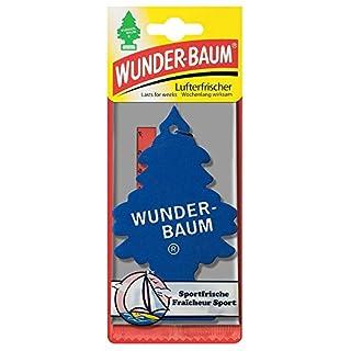 5 x Wunderbaum Lufterfrischer Sportfrische 134203