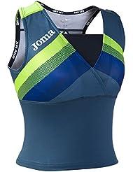 Joma - Top elite v azul  para mujer