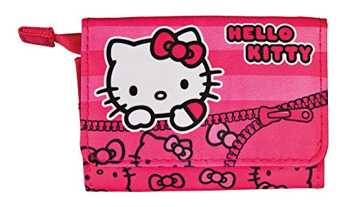 Scooli HKYX7252 Sporttasche Hello Kitty, ca. 35 x 16 x 24 cm Geldbörse