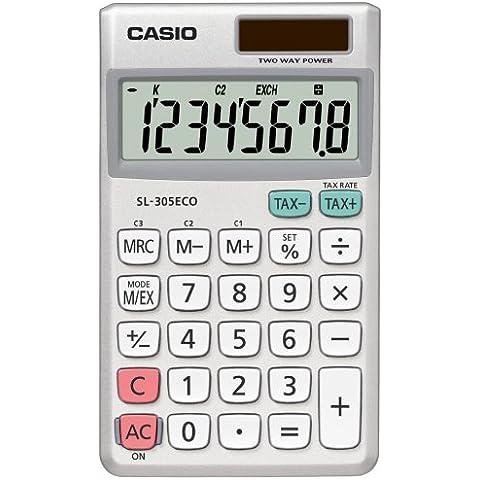 CASIO SL-305ECO - Calculadora de sobremesa