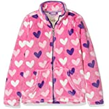 Hatley Girls' Fuzzy Fleece Full Zip Jackets