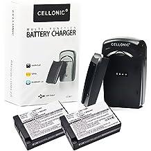 2x subtel® Batería premium para Canon LP-E17 (950mAh) incl. cargador LC-E17 para Canon EOS 750D EOS 760D EOS 770D EOS 800D EOS Kiss X8i EOS M3 EOS M5 EOS M6 EOS Rebel T6i EOS Rebel T6s - incl. fuente alimentación + cargador de coche + cargador corriente + batería, bateria de repuesto, pila reemplazo, sustitución, cargador automóvil, cargador bateria cámara