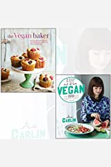 keep it vegan, the vegan baker[hardcover] 2 books collection set - more than 50 delicious recipes for vegan-friendly cakes, cookies, bars and other baked treats, 100 simple, healthy & delicious dishes Paperback
