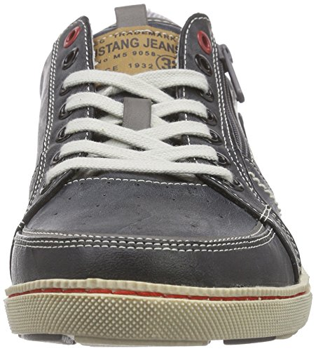 Mustang 4073-302-200, Baskets Basses Homme Gris (200 Stein)