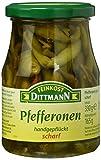 Dittmann Grüne Pfefferonen Scharf, 6er Pack (6 x 330 ml)