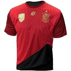 Selección española de fútbol. Camiseta oficial reversible. 2 en 1. (S)