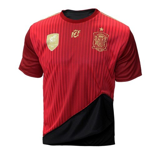Selección española de fútbol. Camiseta oficial reversible. 2 en 1. (M)