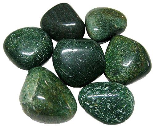 Green Garden Collection (Prisha Mica Green Decorative Stones, Pebbles,Glossy Stones for Home Decor, Garden, Vase Filler, 2.2 Pounds)