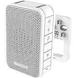 Honeywell Verdrahteter Gong mit LED-Blitzlicht, Lautstärkeregelung und LED-Blitzlicht – Weiß DW313S