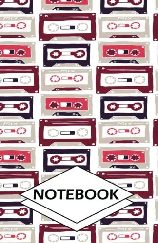 "Notebook: Cassettes : Small Pocket Diary, Lined pages (Composition Book Journal) (5.5"" x 8.5"")"