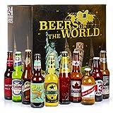 Coffret cadeau de 24 bières du monde & 1 verre - Coffret 24 bières + 1 verre