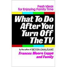 What to Do After You Turn Off the TV