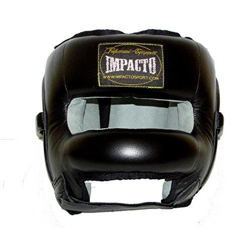 IMPACTO - Casco Barra frontal Piel