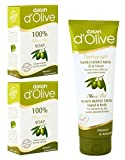 Dalan d'Olive Combo - Pure Olive Oil Hand & Body Cream (75 ml) & 100% Pure Olive Oil Soap, Twin Pack (150g), Imported from Turkey.