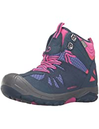 Merrell Girls' Capra Mid Waterproof Low Rise Hiking Shoes