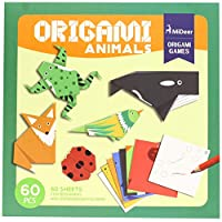 Andreu Toys MD4015 Mideer Origami Animal Puzzle, Multi-colour, 21.5 x 21.5 x 1.3 cm