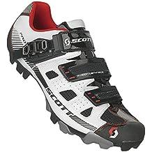 Scott MTB Pro - Zapatillas Unisex, Color Blanco/Negro, Talla 40