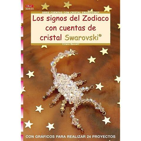 Signos del zodiaco con cuentas de cristal swarovski