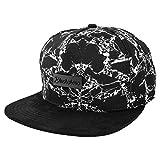 Blackskies Snapback Cap Wildleder Camo Denim Schirm Flanell Unisex Premium Baseball Mütze Kappe Wolle, Fenrir Vol. II, Einheitsgröße