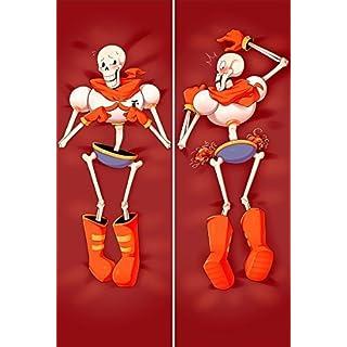 YHS-YO You Loving popular game Undertale Characters sans x frisk Papyrus body Pillowcase Human skeleton (50x150cm 2way, 2)