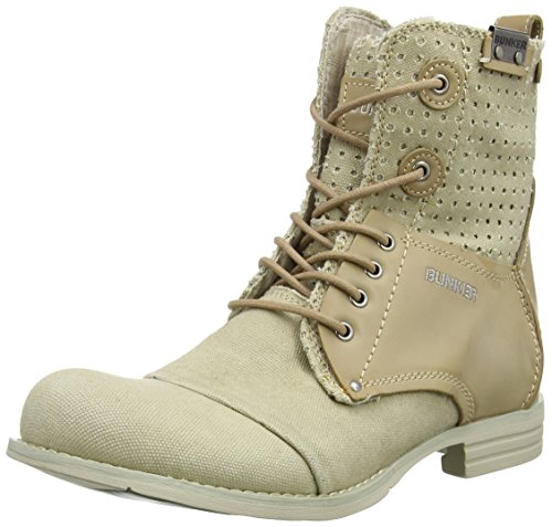 Bunker Booty, Chaussures bateau homme Beige - Beige