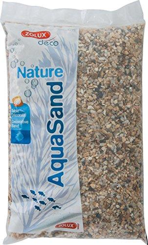 Zolux Kies Natur für Aquarium Quartz Große von 3bis 8mm von granulométie-5kg