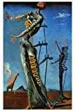 The Burning Giraffe Poster by Salvador Dali, Surrealism by Unknown