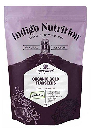 Indigo Herbs Bio Gold Leinsamen 1kg
