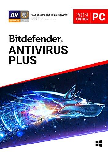Bitdefender Antivirus Plus 2019 - Inkl. VPN - 1 Jahr / 1 Gerät für PC