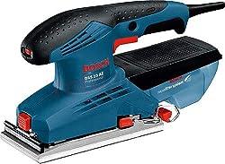 Bosch Professional 601070700 SchwingungsschleiferBosch GSS 23 AE, Schwarz, Blau, Rot
