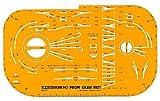 Fleischmann 9921 - Gleisplanschablone für das FLEISCHMANN HO PROFI-Gleis