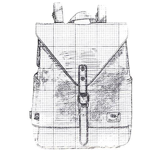 Dokin Unisex Lederrucksack - 8