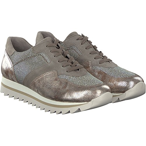 Donne Sneaker Gabor 63.301.62 torba platino Exchangeable 38 38.5 39 40 grau