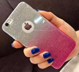 Best I Phone 5s Covers - Amozo* Gradient Glitter Skin Soft Silicone Slim Back Review
