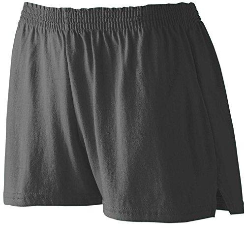 Augusta Sportswear Girls Trim Fit Maglietta Black Large