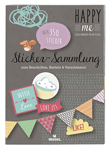 moses. 63063 Happy me Sticker-Sammlung