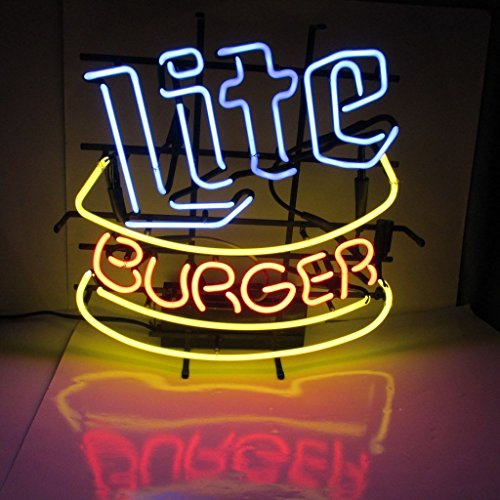 miller-lite-burger-neon-sign-17x14-inches-bright-neon-light-display-mancave-beer-bar-pub-garage-new