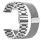 TRUMiRR pour Fossil Gen 4 Q Venture HR/Gen 3 Q Venture Bracelet de Montre, 18mm...
