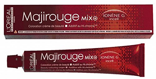 Coloration cheveux Majirouge n°6.64