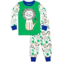Harry Bear Boys Pyjamas King Of The Jungle Snuggle Fit