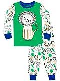 Harry Bear Jungen Schlafanzug König des Dschungels Slim Fit