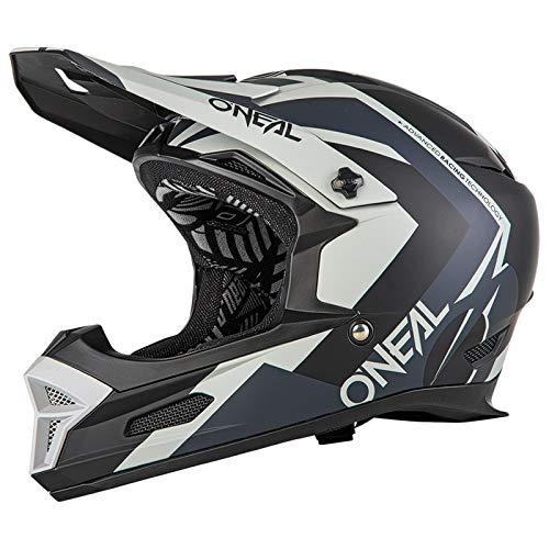 O\'Neal Fury Hybrid RL DH Fahrrad Helm schwarz/grau 2019 Oneal: Größe: L (59-60cm)