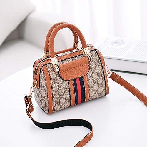Fyyzg Europa und den Vereinigten Staaten Damenhandtaschen Mode lässig Damentasche Schulter Diagonale Paket -69 erdgelb