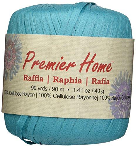 premier-fils-solides-raphia-yarn-turquoise-dautres-multicolore
