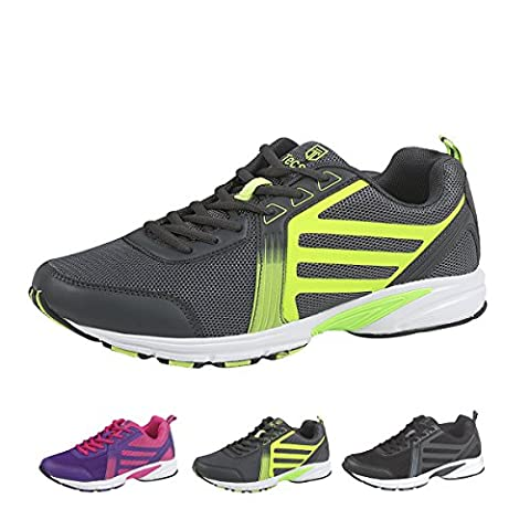 Tecsmo Men's Running Shoes - Green - Size 8
