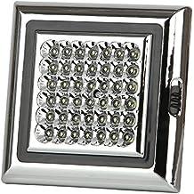 Discoball®, luce da capannone a 12V, con 42LED bianchi, ideale anche per camper, tende di grandi dimensioni, rimorchi, roulotte, auto, tetti, soffitti a cupola, luce da interni con viti