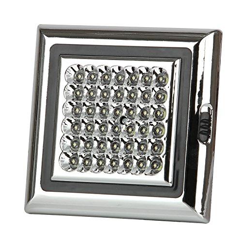 Auto Innenleuchte Dome Lampe Deckenplatte Licht Fahrzeug Deckenleuchte Kuppel Dach Lampe 42 LED 12V Weiß von Discoball® (Dach Auto Lampe)