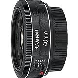 Canon EF 40mm f/2.8 STM - Objetivo para Canon (Distancia Focal Fija 40mm, Apertura f/2.8-22, diámetro: 68.2mm) Negro