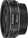 Canon EF 40 mm f/2.8 STM Lens - Black